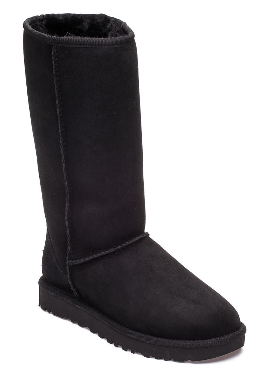 5c512d6f919 Classic Tall II Black Suede Boot
