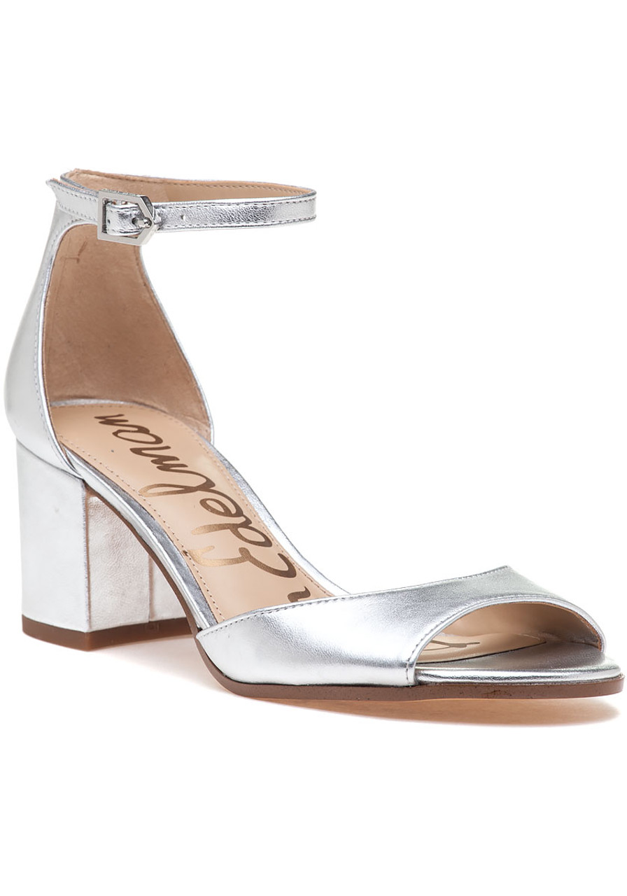 f2c0845dc1b Susie Sandal Silver Leather - Jildor Shoes