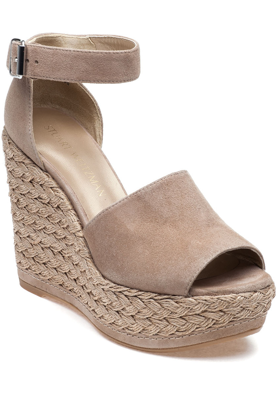 611010643d4 Sohojute Mojave Suede Wedge - Jildor Shoes