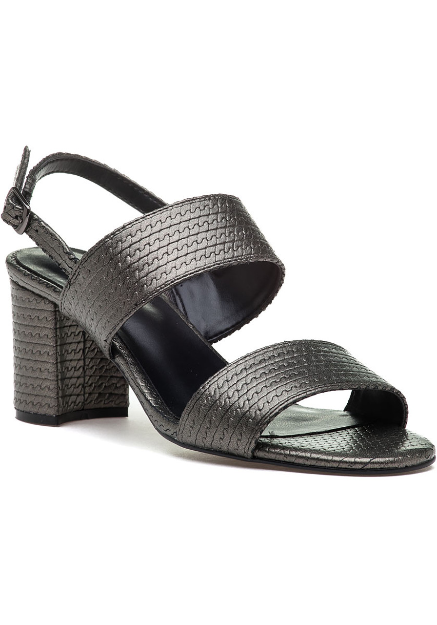 97b1ff6597a List Pewter Leather Sandal - Jildor Shoes