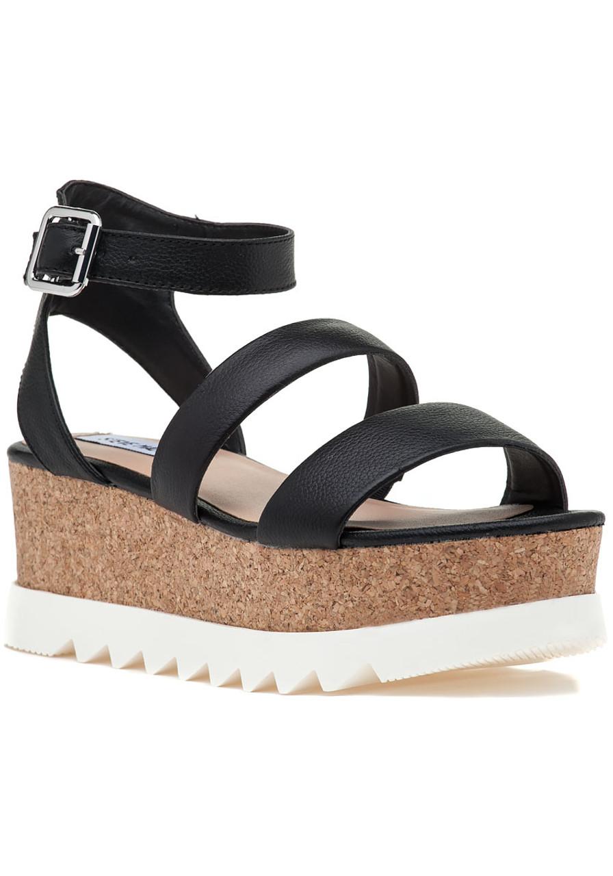 0130de22628f Kirsten Sandal Black Leather - Jildor Shoes