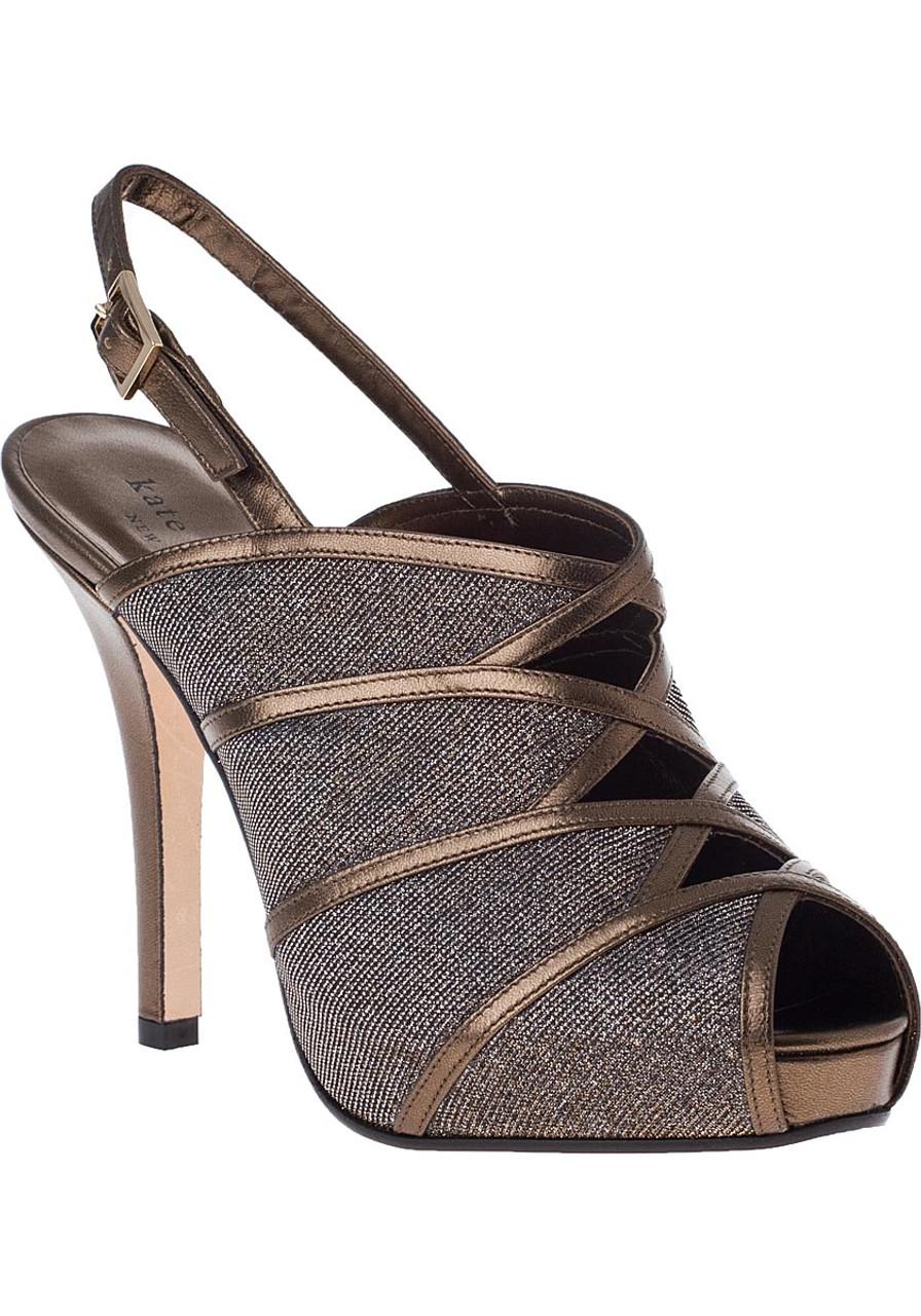 Rachael Evening Sandal Bronze Leather - Jildor Shoes