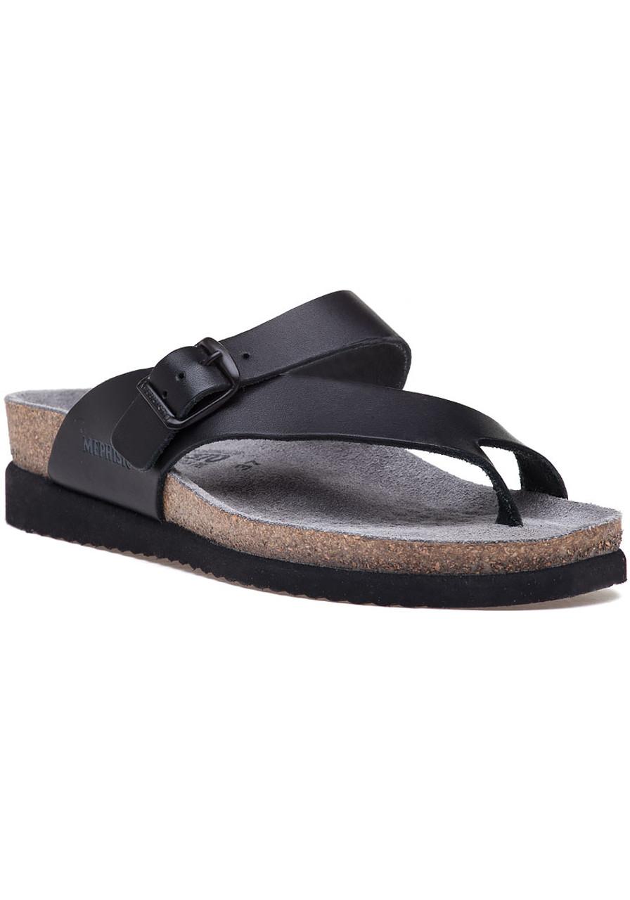 1c23cbed3a Helen Sandal Black Leather - Jildor Shoes