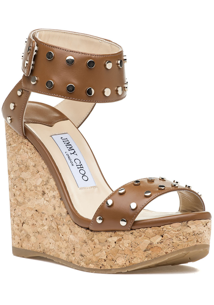 d717e303d3c1 Nelly 120 LKZ Wedge Canyon Gold Leather - Jildor Shoes