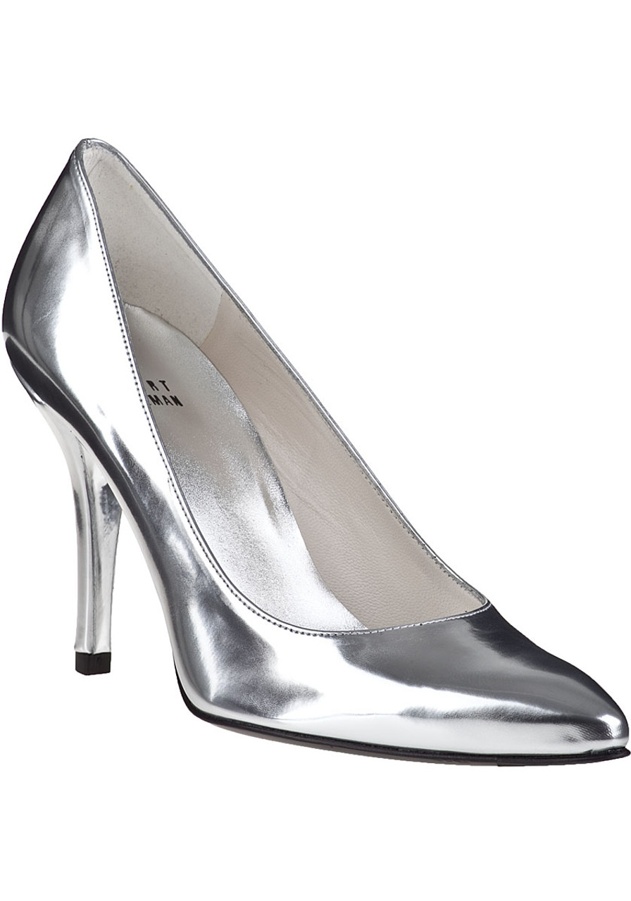 a0f3854adef Power Pump Silver Leather - Jildor Shoes