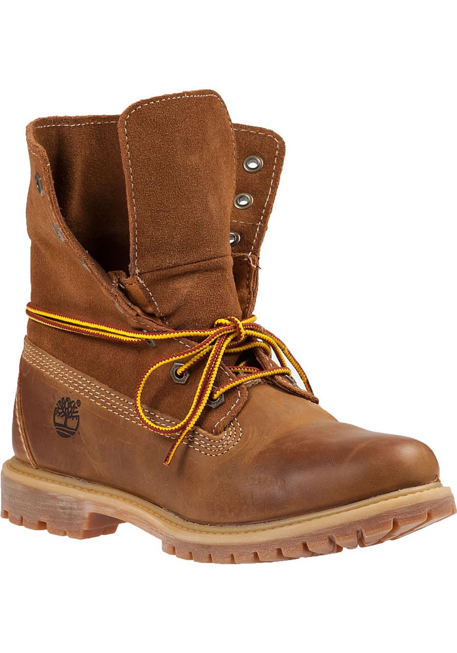 c7633b5e9d Authentics Roll-Top Boots Wheat Leather - Jildor Shoes
