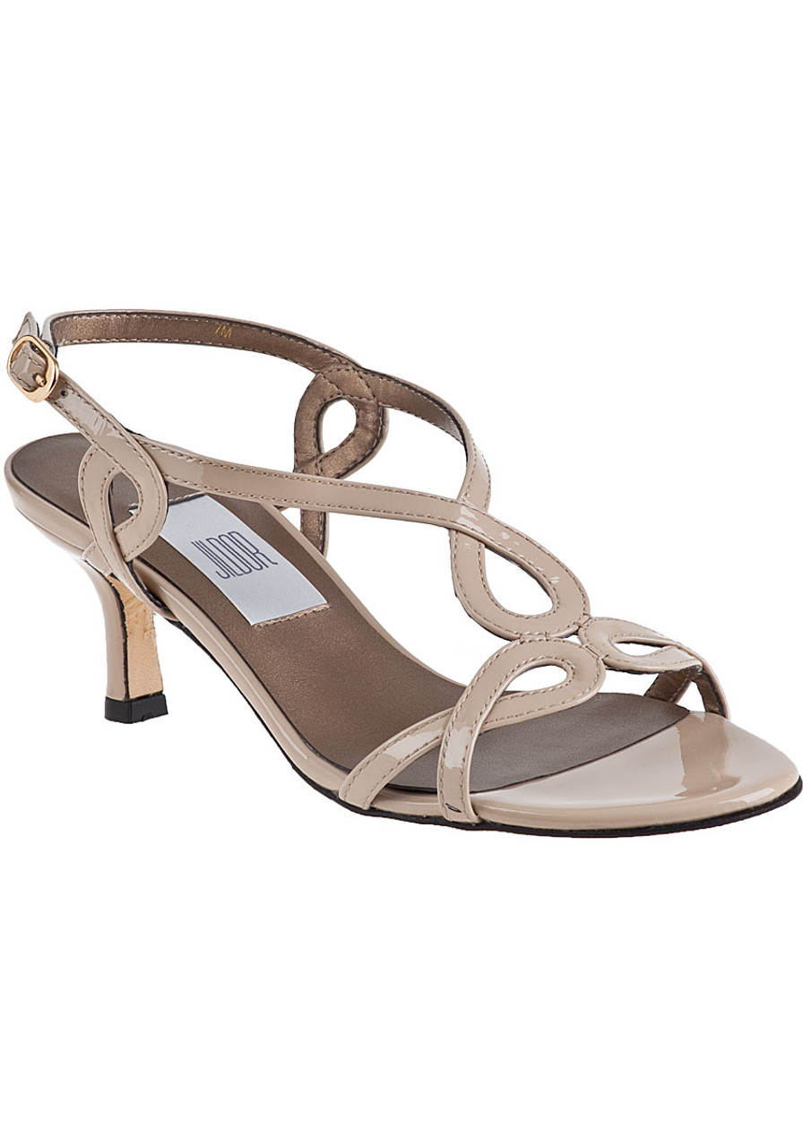 4427ba8f79dec Milbie Sandal Nude Patent - Jildor Shoes