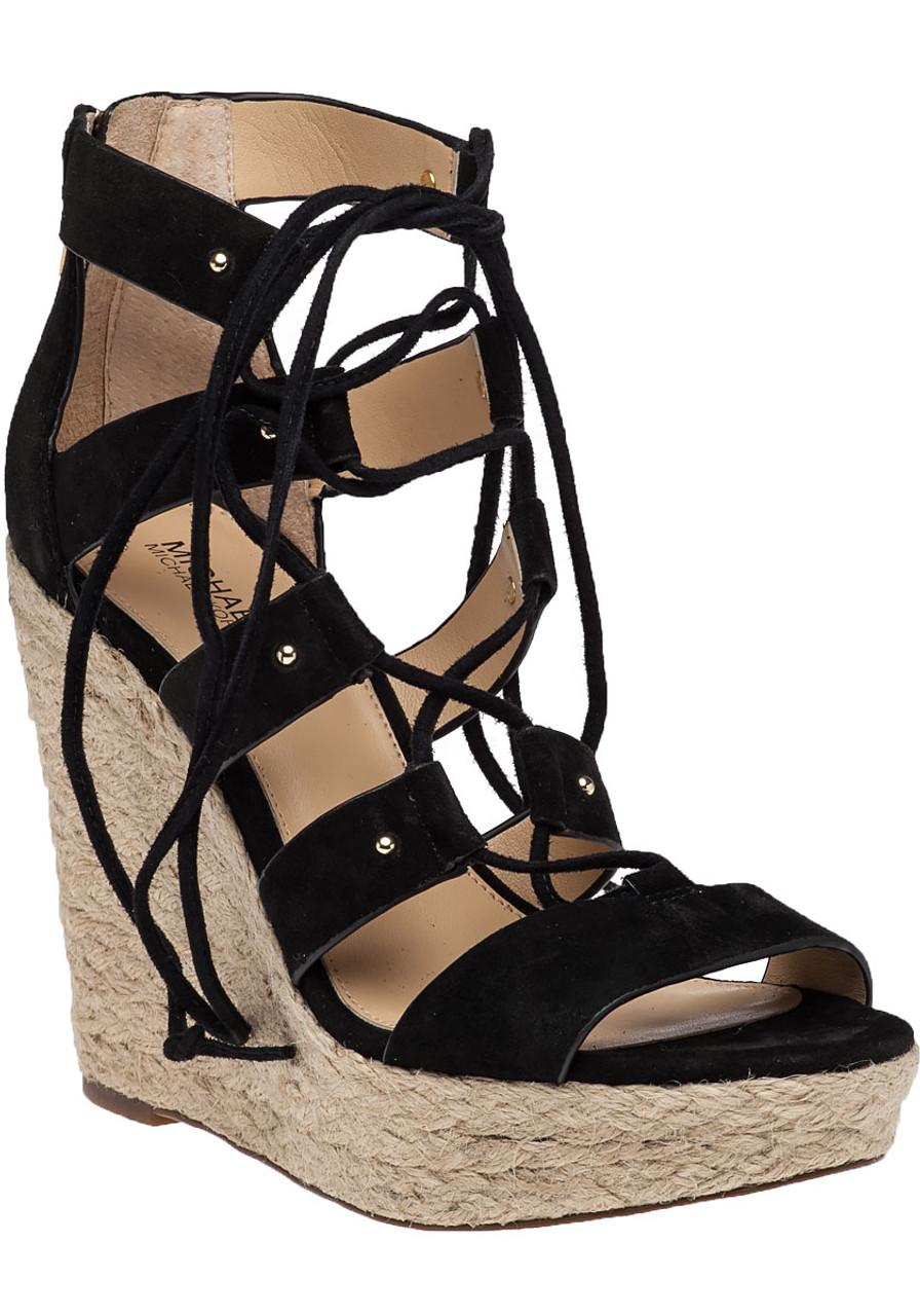 016bd568d72 Sophia Wedge Black Suede - Jildor Shoes