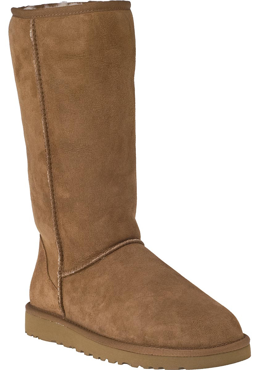 d3c7bcf3586 Classic Tall Boot Chestnut Suede