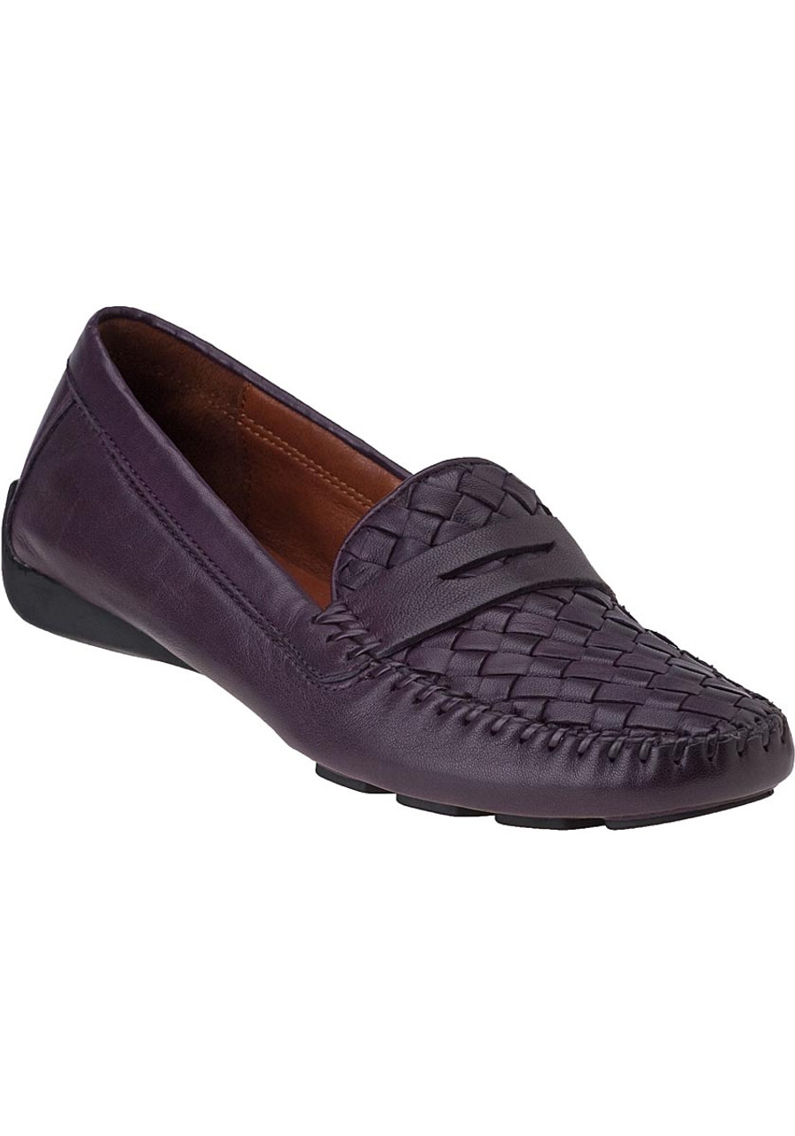 d079f5338 Petra Loafer Eggplant Leather - Jildor Shoes