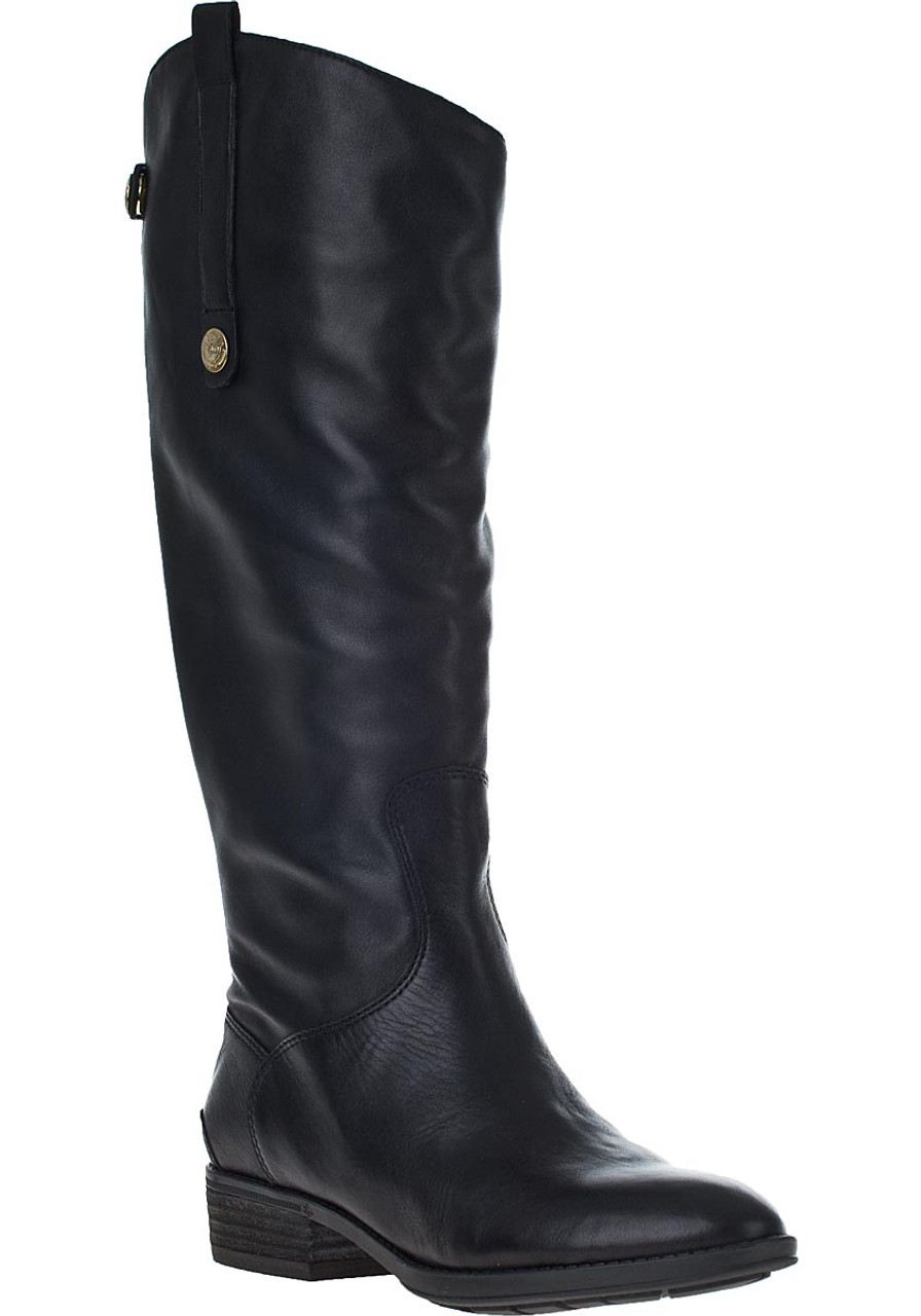 265f963ea51fe3 Penny Riding Boot Black Leather - Jildor Shoes