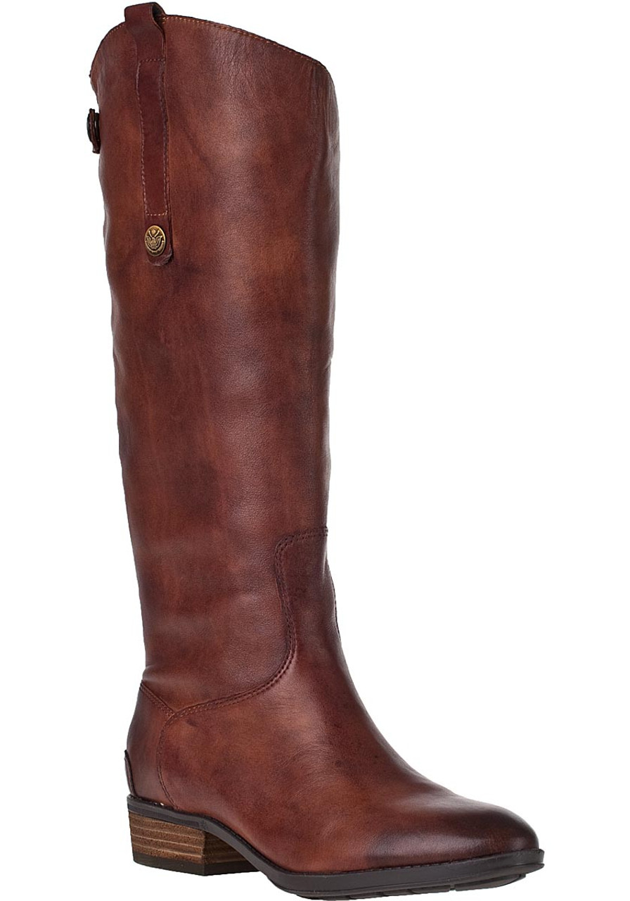 d97da9e0517f Penny Riding Boot Whiskey Leather - Jildor Shoes
