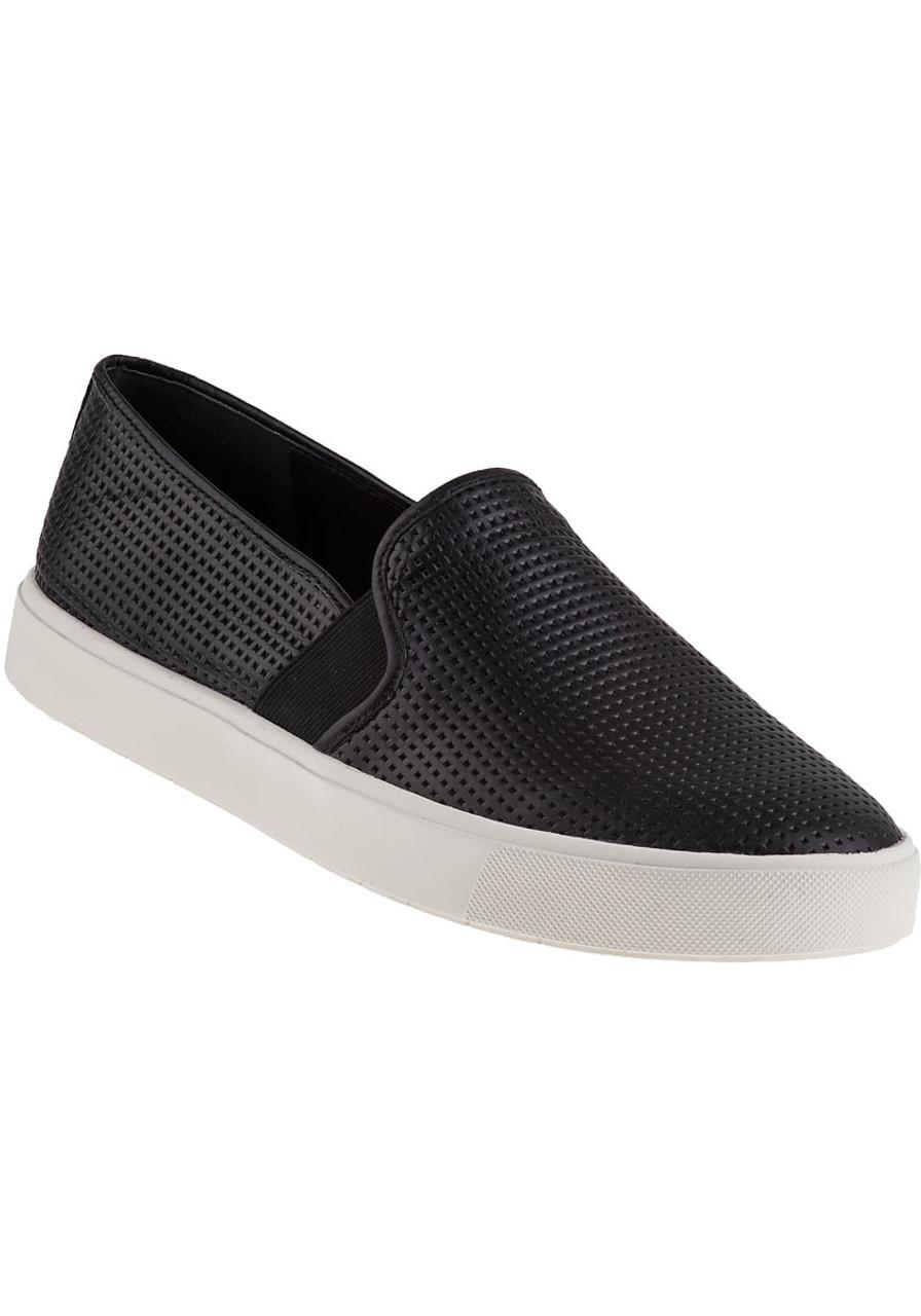 b05438d06 Blair Slip-On Sneaker Black Leather - Jildor Shoes
