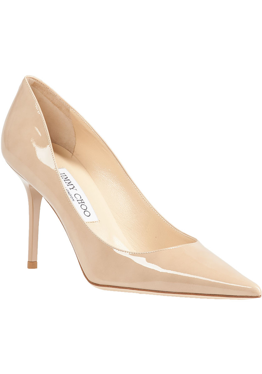 b6232513e Agnes Pump Nude Patent - Jildor Shoes