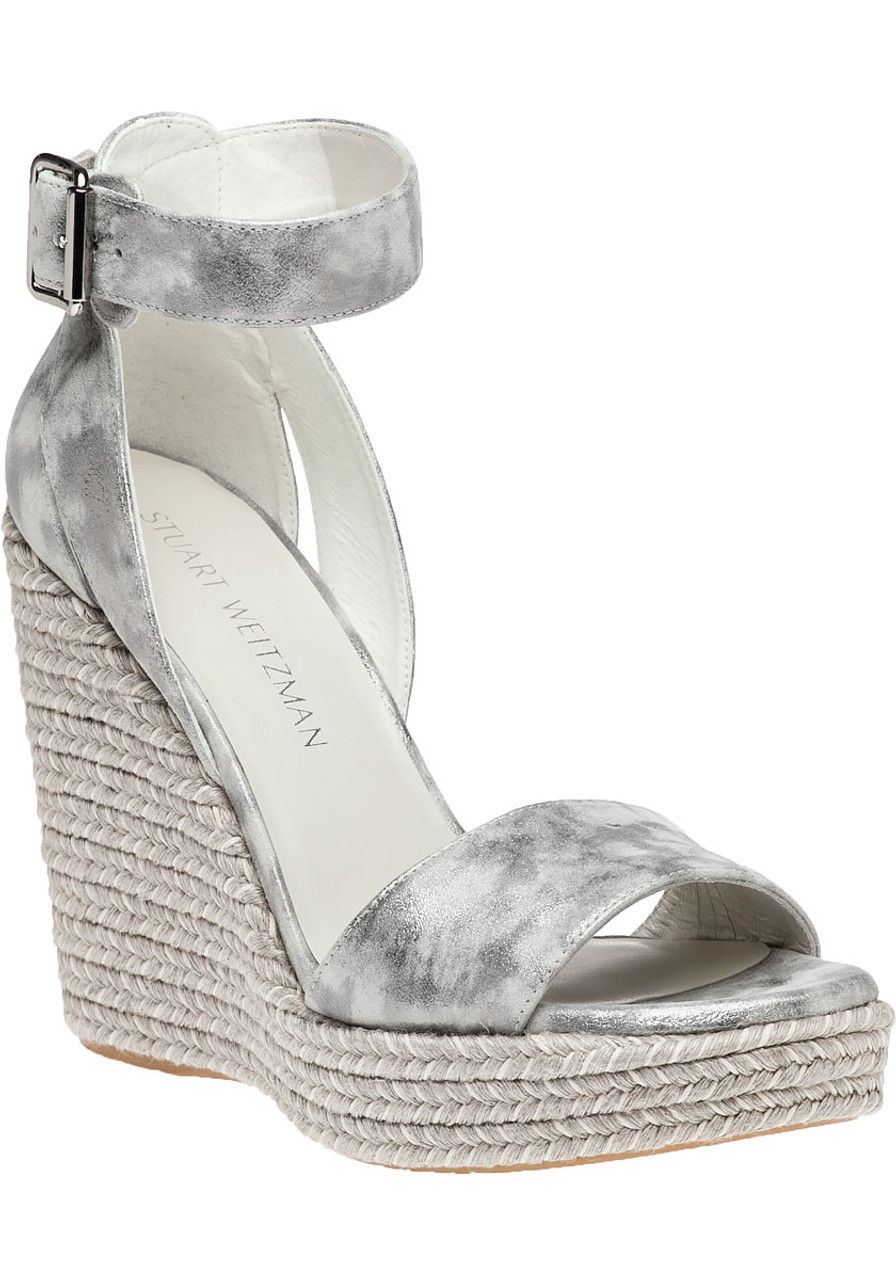 d03bb6042e Mostly Clouded Nappa Wedge - Jildor Shoes