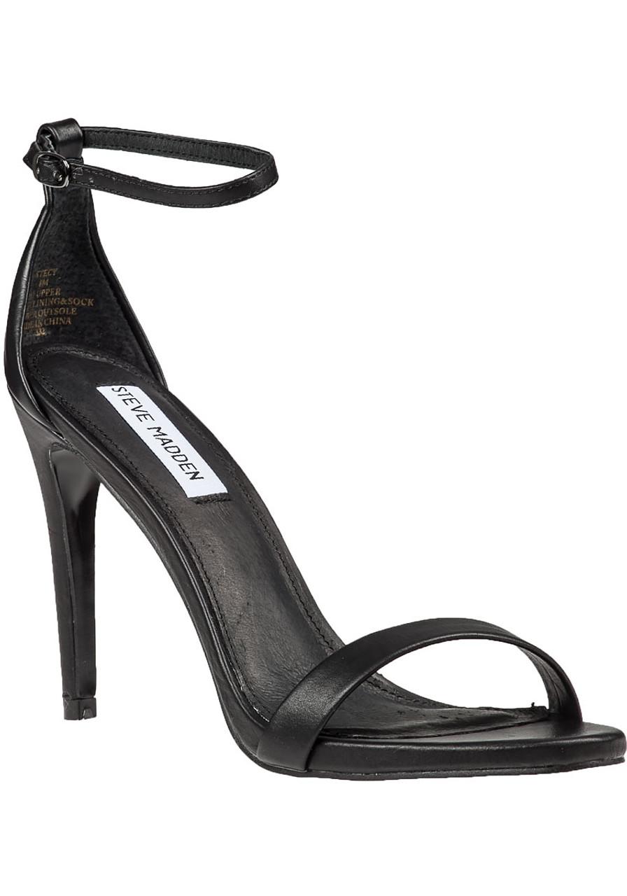 39517c9a20 Stecy Ankle Strap Sandal Black - Jildor Shoes