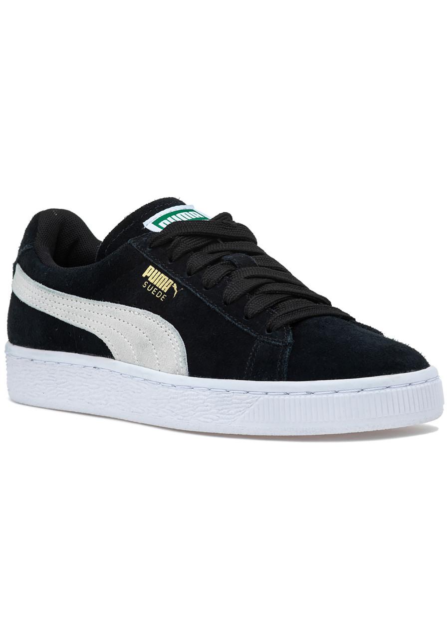 65ee47e87933d7 Suede Classic Sneaker Black - Jildor Shoes