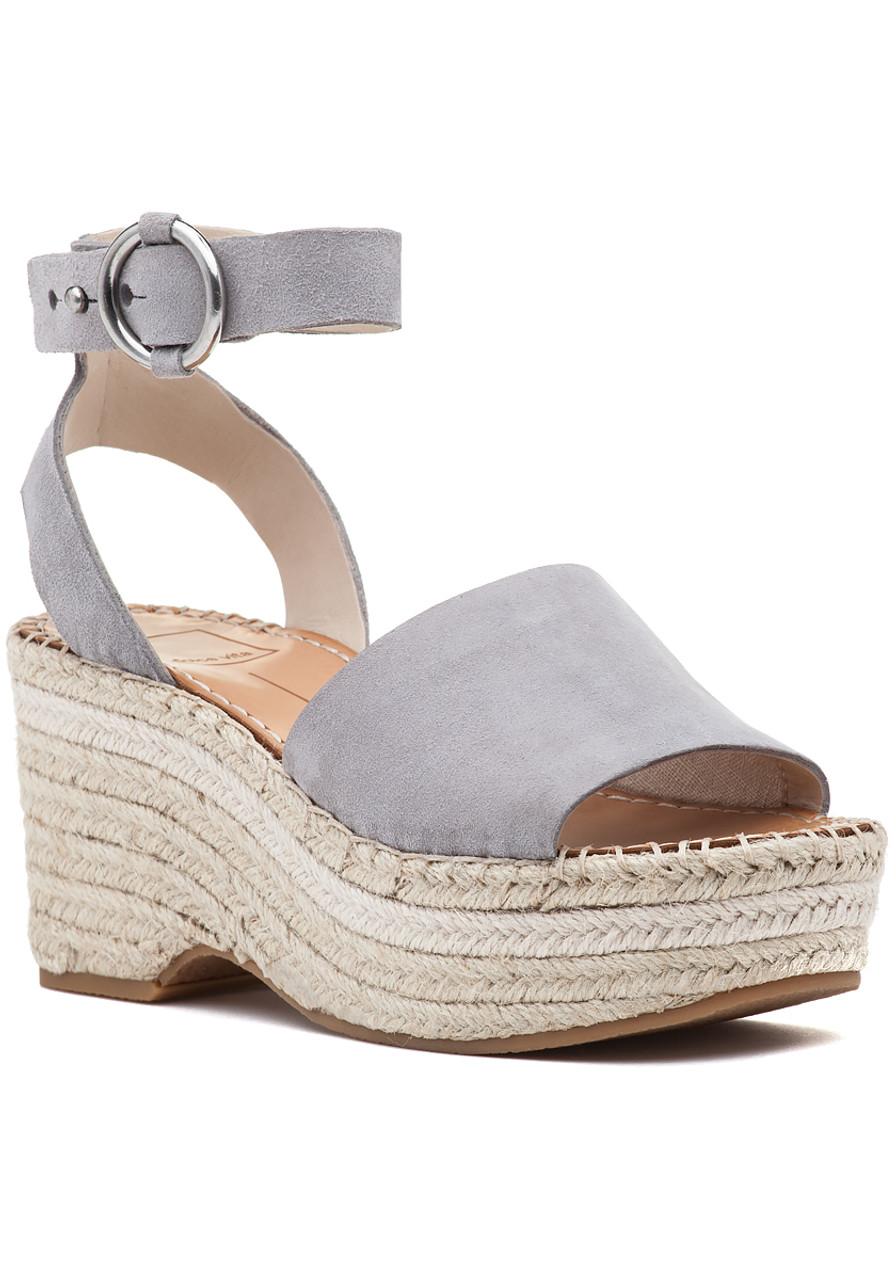 d20e3cd22d6d Lesly Sandal Grey Suede - Jildor Shoes