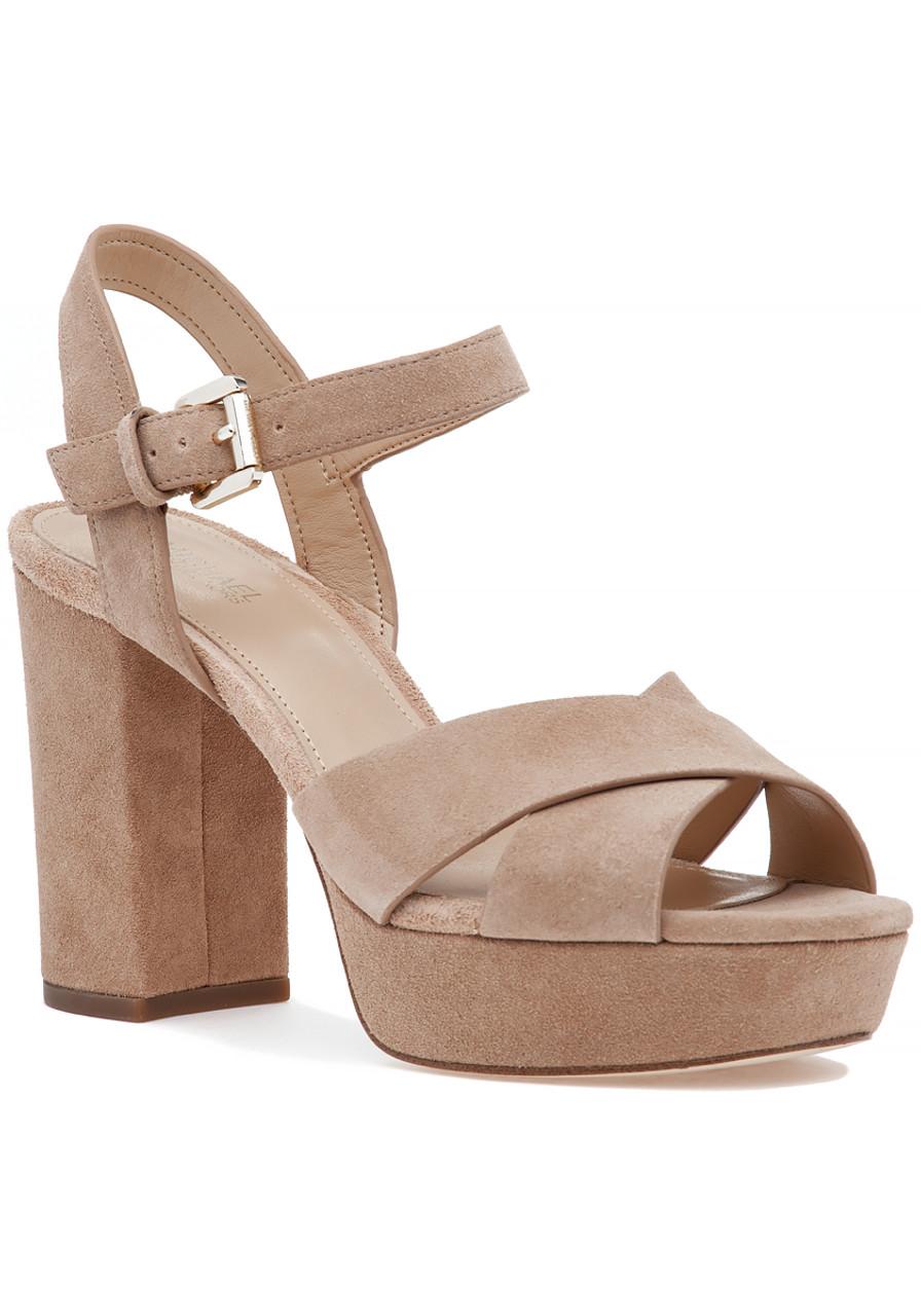 386d70aea1f Divia Sandal Dark Khaki Suede - Jildor Shoes