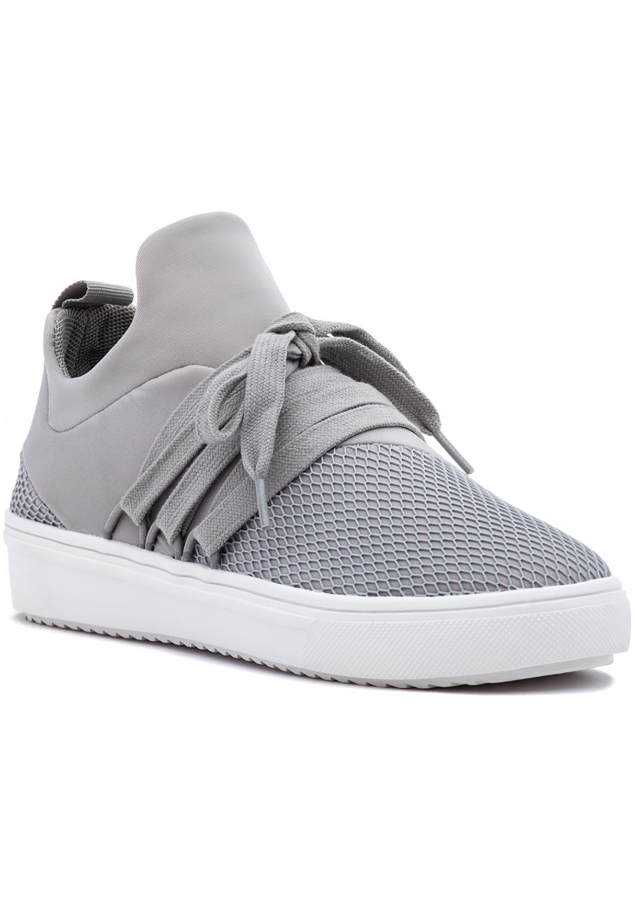 54670ab649b Lancer Sneaker Grey Fabric - Jildor Shoes