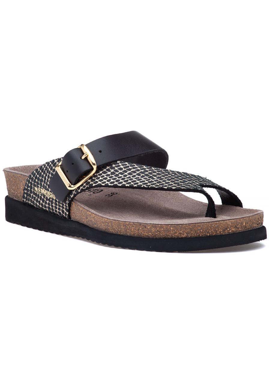 7c9b162167 Helen Mix Sandal Black Leather - Jildor Shoes