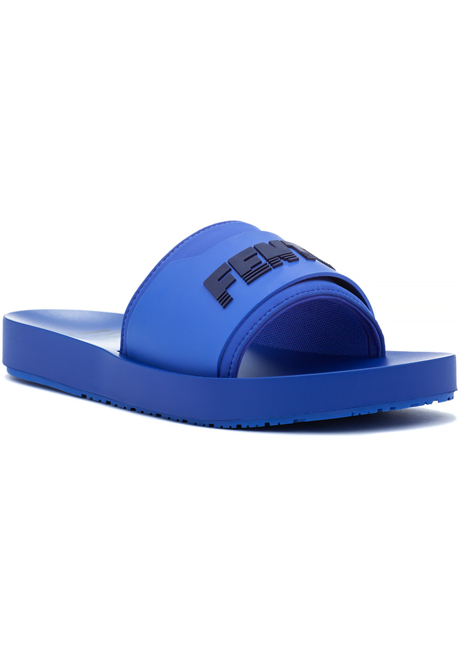 251e4f39ffa91 FENTY x Puma Surf Slide Blue Evening - Jildor Shoes
