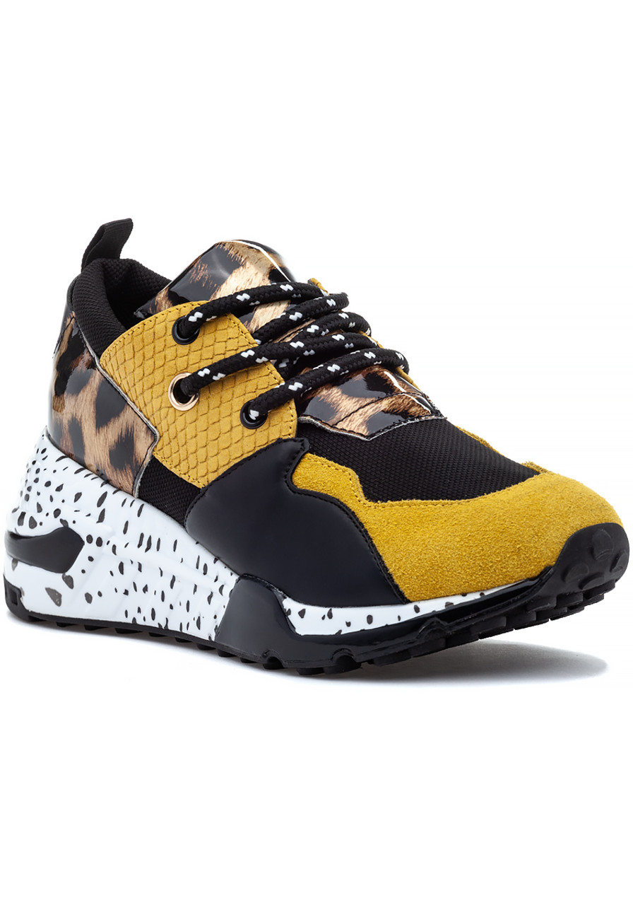 31d373b424f Cliff Sneaker Yellow Multi - Jildor Shoes