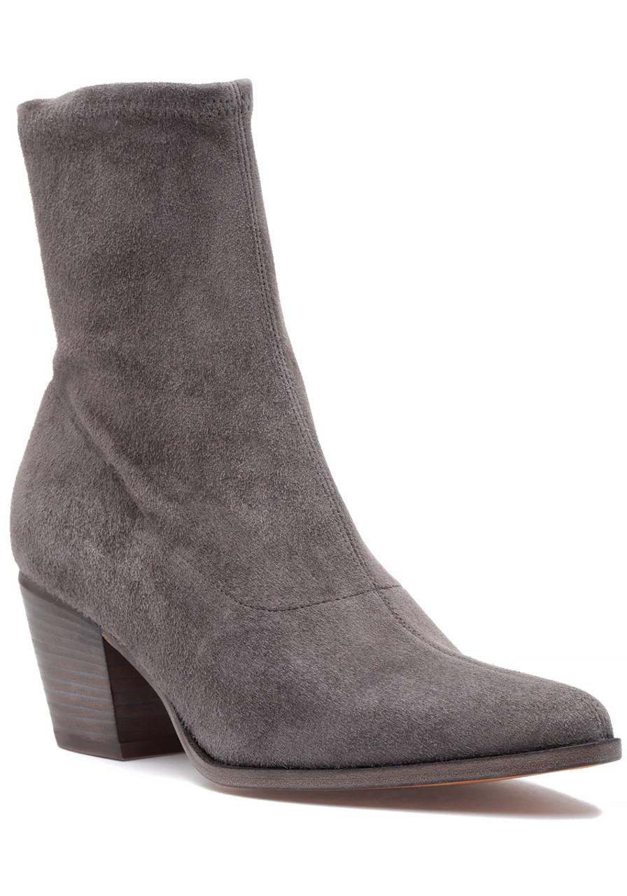 9e788b2a2a5 Hayek Boot Grey Suede - Jildor Shoes