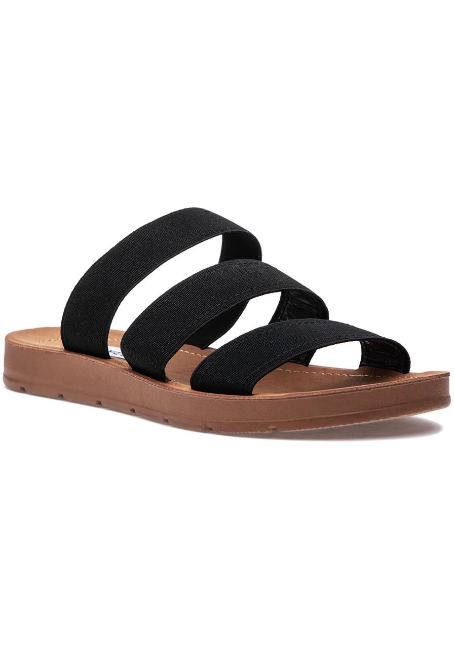 7c8d0af844 Pascale Sandal Black - Jildor Shoes