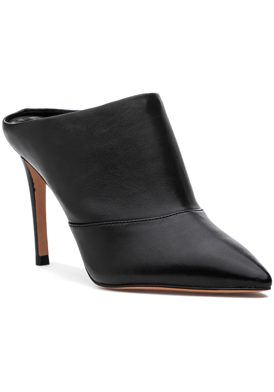 4ec097e157 Cinda Mule Black Leather - Jildor Shoes