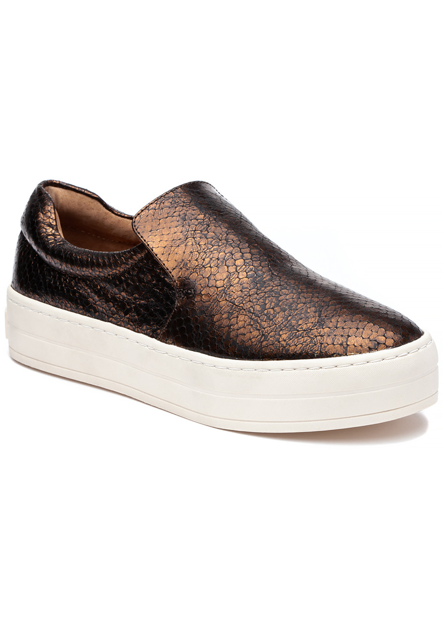 0648a89ff73 Harry Sneaker Bronze Embossed Leather