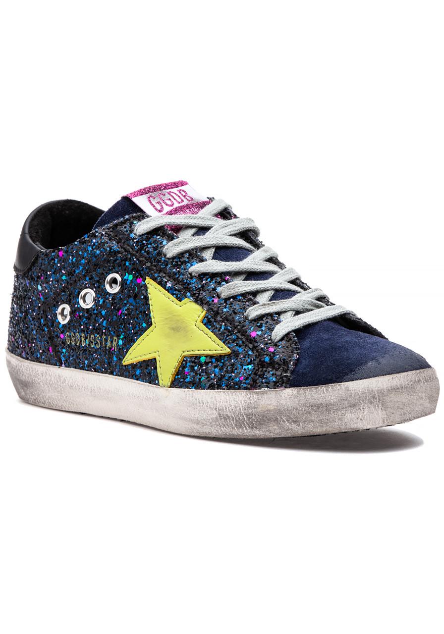651b9a165169 Superstar Sneaker Navy Glitter - Jildor Shoes