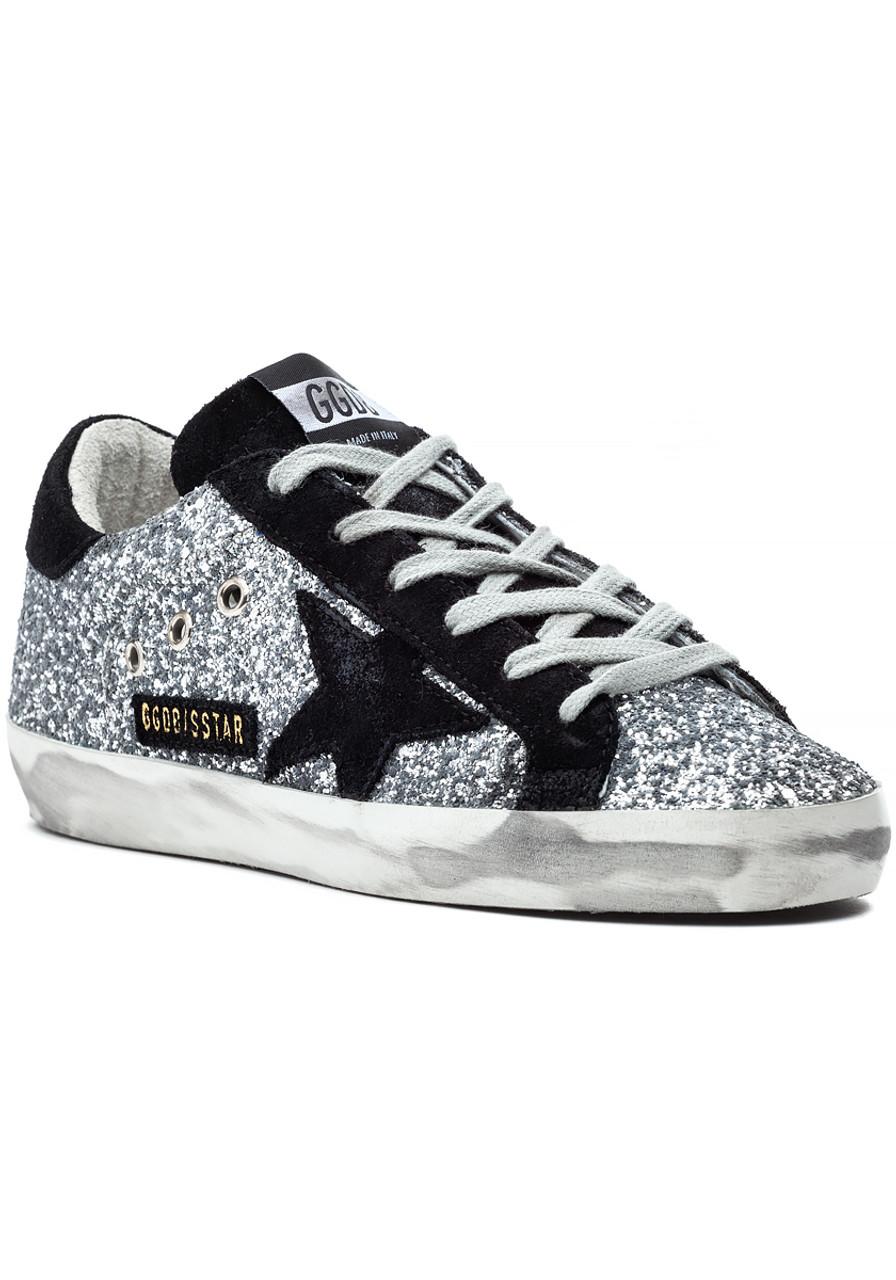e50636a6be29 Superstar Sneaker Silver Glitter - Jildor Shoes