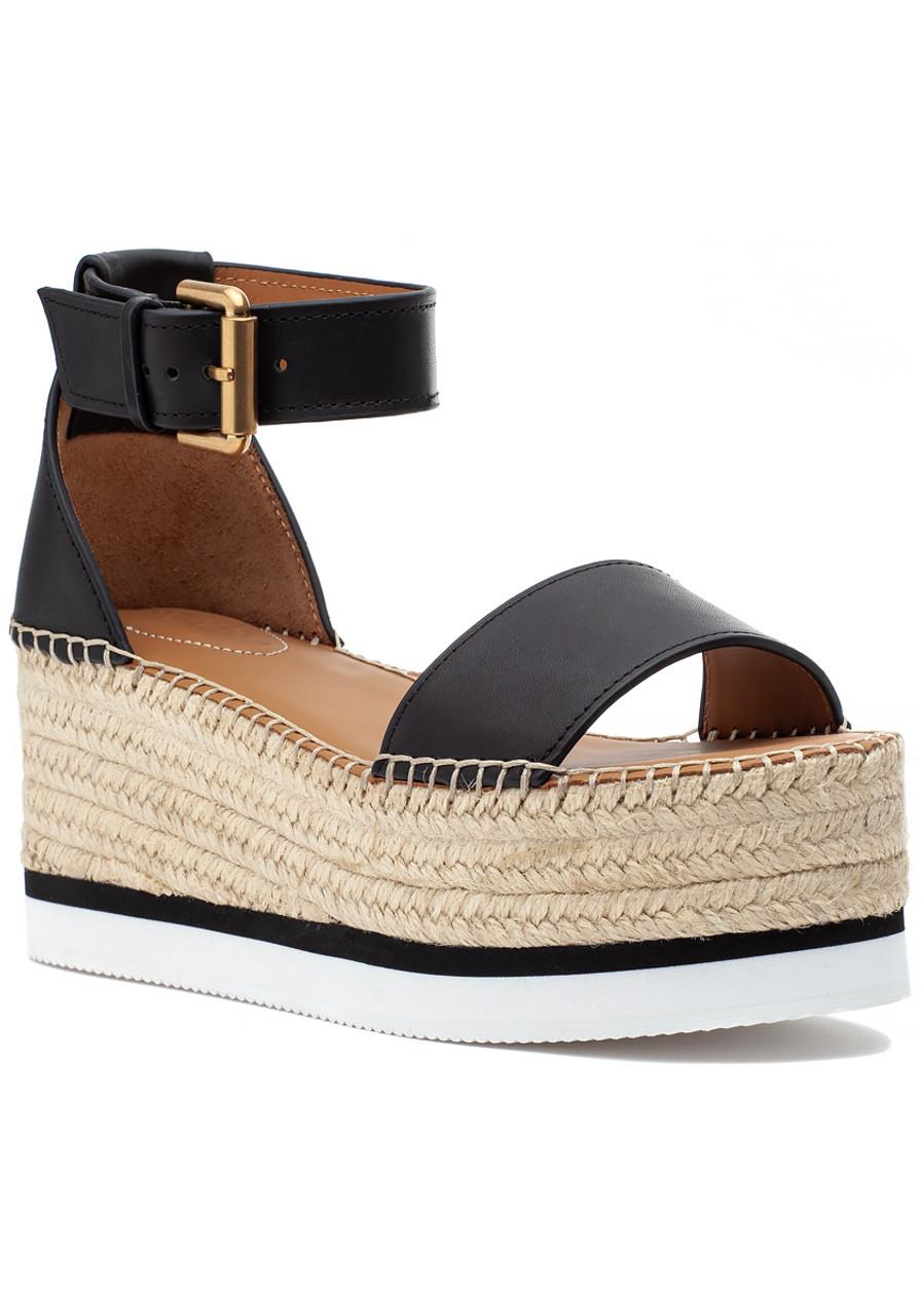 0c2a66d10fe Glyn Espadrille Sandal Black - Jildor Shoes