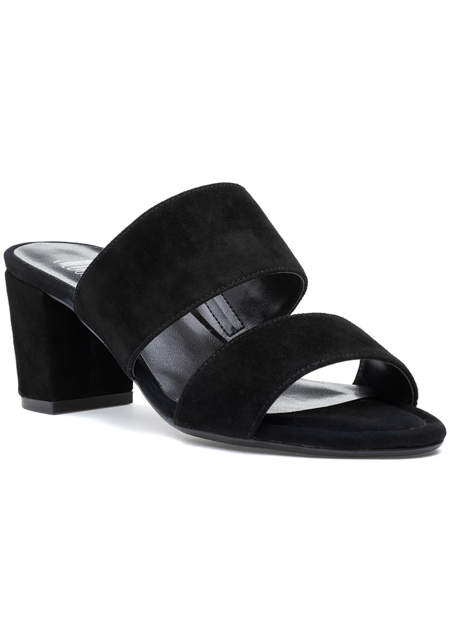9bc245e0c18b Maiden Sandal Black Suede - Jildor Shoes