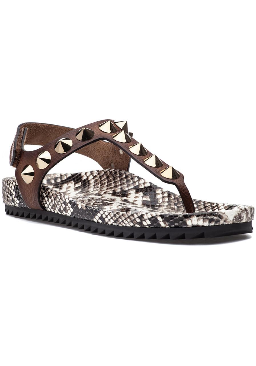 0167c62987c Athena Sandal Cigar - Jildor Shoes