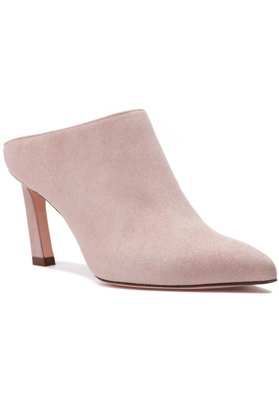 8666ce3d67cb Mira 75 Mule Dolce Suede - Jildor Shoes