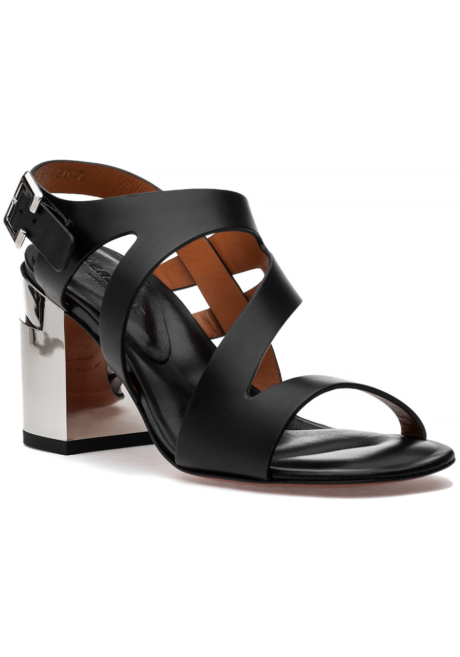 83d76da02bde Above Sandal Black Leather - Jildor Shoes