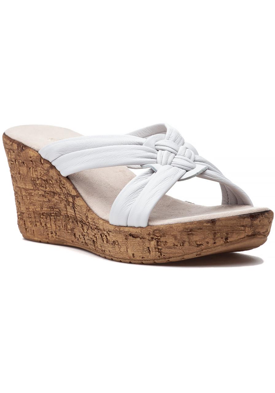 fb23d9142ff Bethany Sandal White - Jildor Shoes