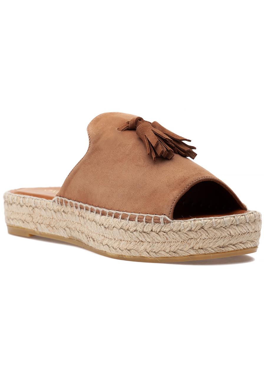 b5b42d0cf4b Cameron Espadrille Sandal Cuero Suede - Jildor Shoes