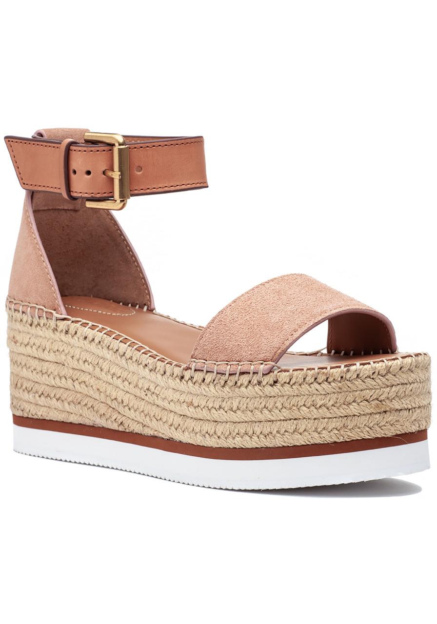 b00db66f481 Glyn Espadrille Sandal Nude - Jildor Shoes
