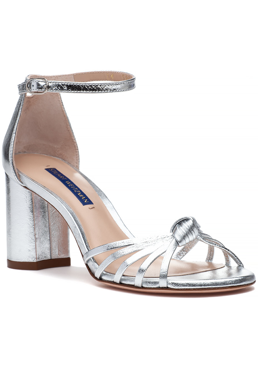 Crinkle Silver Shoes Jildor Sutton Metallic Sandal nOv0wmN8