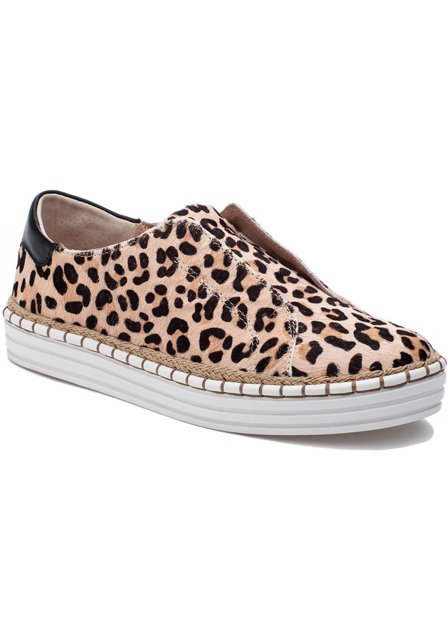 b4bdcc610822 Karla Sneaker Leopard Pony - Jildor Shoes