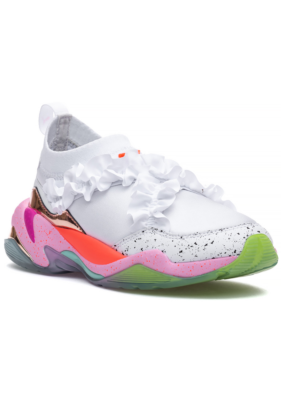 new style 43008 694dc PUMA x Sophia Webster Thunder Sneaker White Multi