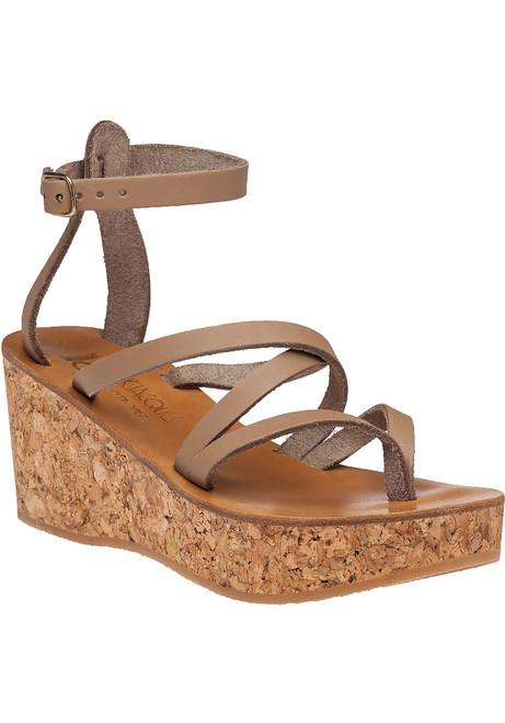25da8c0ce62 Odelyne Taupe Sandal
