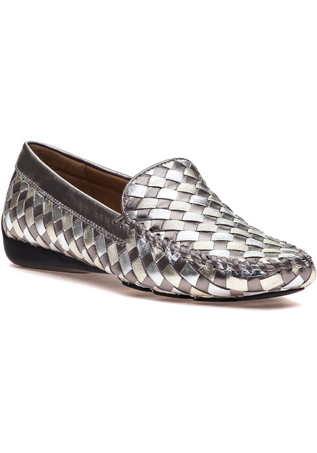 7adff8034 Venetian Antique Silver Combo Loafer