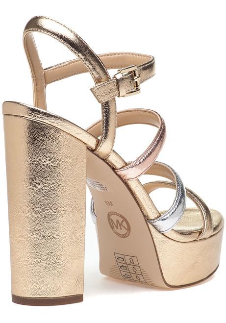 1516fe7d030 Nantucket Platform Sandal Gold Multi - Jildor Shoes