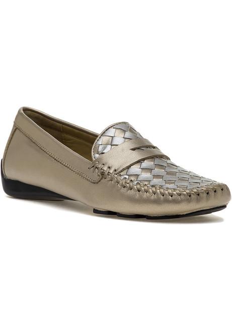 8b8fef103 Petra Loafer True Gold   True Silver Leather