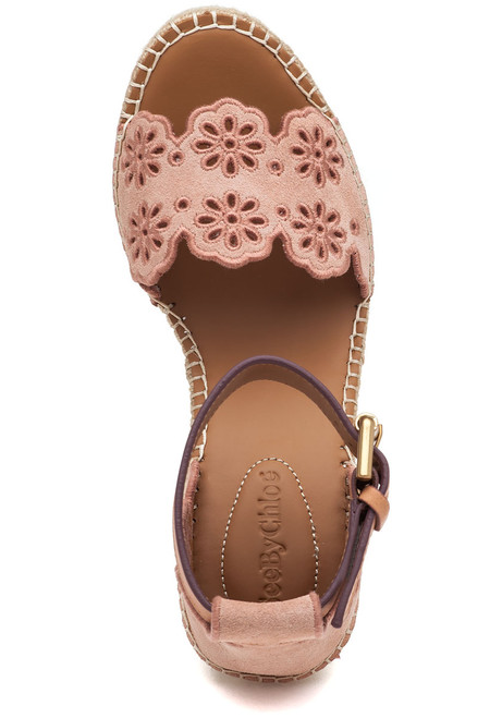 Glyn Cipria Suede Wedge Jildor Espadrille Shoes PXTOikulwZ