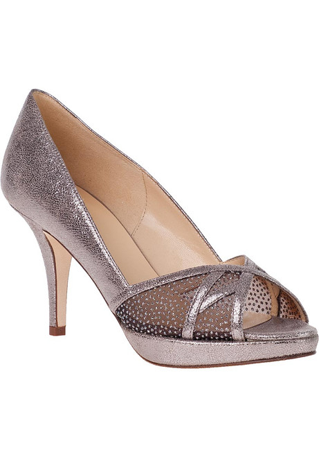 24805e56bf76 Clarice Evening Pump Cobalt Satin - Jildor Shoes